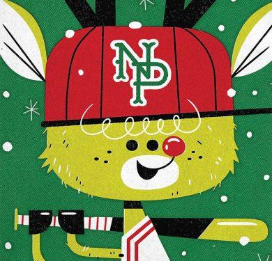 Rudolph Baseball Card