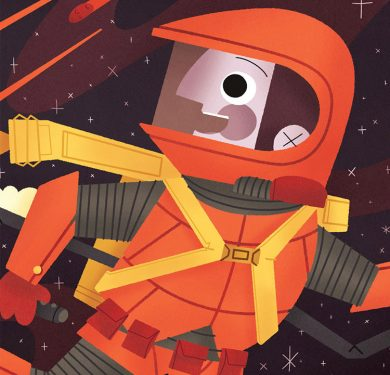 Space-Themed Picture Book